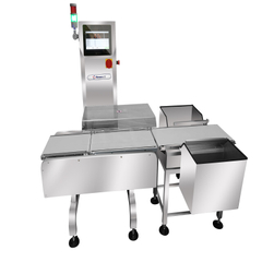Conveyor Belt Weighing System Stainless Steel Check Weigher